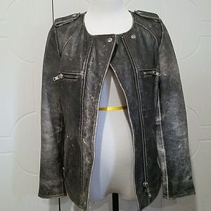Isabel Marant Leather Jacket $1680 with tax
